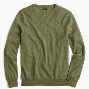 J.Crew men's cotton-cashmere sweater, size Large